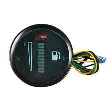 """2 """"52MM LED blu digitale livello carburante strumento Borletti auto moto L6V4"""