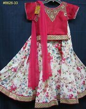 Girl's 7930 Lehenga Anarkali Assorted Indian Party Wear Shieno Sarees
