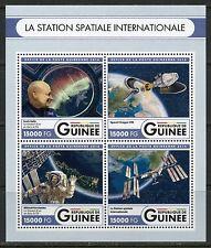 Guinea 2017 The International Space Station Sheet Mint