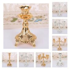 1/3/5 Arms Taper Candle Holder Wedding Event Candelabra Tealight Stand