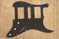 Golpeador Negro HSH  Stratocaster Pickguard 3 Capas Black Humbucker Salvapuas