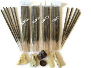 Copal Incense Sticks From Mexico 8 Bags of 10 Sticks, Handmade With Real Copal.