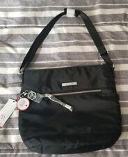 Hedgren Aura Source Large Vertical Crossover Handbag Black
