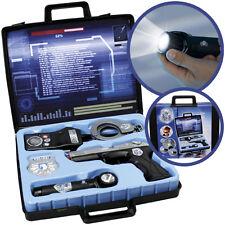 Simba Polizei Ausrüstung im Koffer Polizeiset Kinder Spielzeug Pistole Funke NEU