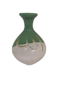 Vintage Arabic Small Miniature Ceramic Pottery Handmade Vase Home Decoration