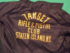 target rifle &pistol club staten island new york   jacket size large