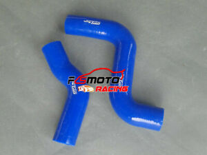BLUE For TOYOTA HILUX KZN130GW 1KZ-TE 3.0 Radiator Silicone Hose 1993-1996 94 95