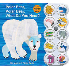 Polar Bear, Polar Bear What Do You Hear? sound book by Martin Jr., Bill