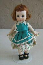1950's Madame Alexander Alexander-kin Doll Tagged Flower Dress Walker