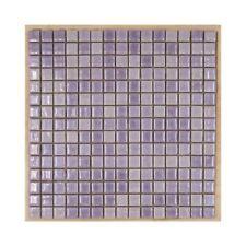 CERAMICA DI TREVISO mosaico da rivestimento RILIEVO LILLA 1,8x1,8 (fogli 30x30)