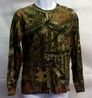 """""""Russell Outdoors"""" Men's Long Sleeve *Green Real Tree Camouflage""""* Shirt (S/P)"""