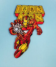 IRON MAN - EMBROIDERED PATCH !