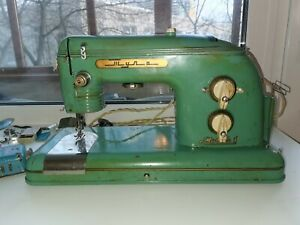 Vintage sewing machine TULA USSR 1962 in working condition
