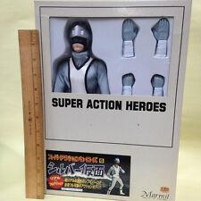 MARMIT SUPER ACTION HEROES SILVER KAMEN 1/6 SCALE GI JOE SIZE FIGURE TOKUSATSU