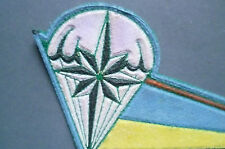 Ukraine Ukrainian Patch - Flag on the Beret Rose Winds ((New*10 x4.5 cm))