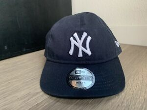 New York Yankees Kids New Era Hat Navy One Size New With Stickers