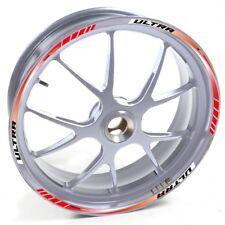 ESES Pegatina llanta Honda plata DN 01 DN01 DN-01 Touring Concept Rojo adhesivo