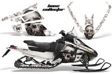 AMR Racing Sled Wrap Arctic Cat F Series Snowmobile Graphic Decal Kit BONES WHT