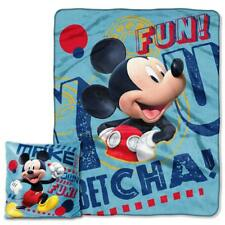 Disney Mickey Mouse Pal Clubhouse Pillow & Throw 2 pieces set Blanket