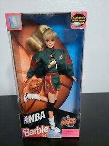 NbA Barbie Seattle Sonics