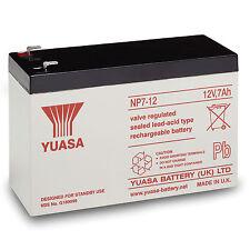 Yuasa Np7-12 Valve Regulated Lead Acid Batterie 12v 7ah
