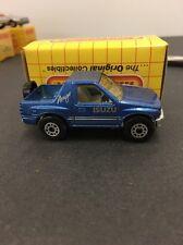1991 Matchbox Isuzu Amigo (blue) 1:64 Scale Made In Thailand New With Box