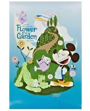 Disney Parks 2017 Epcot International Flower & Garden Festival Poster Print Art