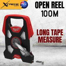 Milwaukee 48225211 100m Open Reel Long Tape Measure 330ft