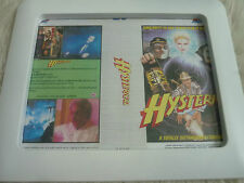 Hysterical Four crowns Metalstorm 3 Vhs Cover Framed Original Video issue sleeve