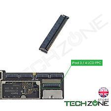 LCD Display Connector Motherboard FPC ZIF Socket Plug for iPad 3 & iPad 4