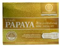 Khadi Papaya Skin Revitalising Mini Facial Kit  75gm for Cooling & Healthy Skin