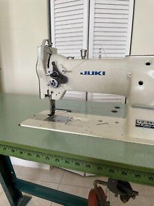 Juki LU-563 Industrial Sewing Machine - Very Good Condition