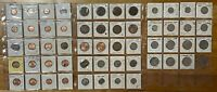 Mauritius: All In One - 56 Coins Lot- 1c, 2c,5c,10c,20c,1/4R,1/2R,1R,5R,10Rupee