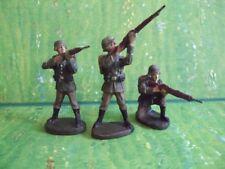 Elastolin 3 Soldaten schiessend