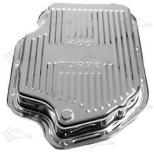 Chrome GM Turbo 400 Transmission Huile Pan-TH400-finned Style