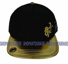 RED MONKEY Old Gold Flat Visor RM1060N Limited Edition New Black Hat