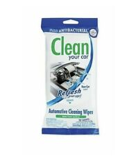 New listing 2x Refresh Your Car - Automotive Cleaning Wipes, New Car Scent 40pc