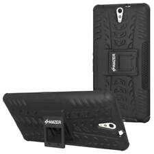 AMZER HYBRID WARRIOR KICKSTAND CASE COVER FOR SONY XPERIA C5 ULTRA