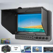 LILLIPUT 7'' inch 665 HDMI LCD Camera Video Field Monitor+F970 LP-E6 Plate G0
