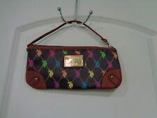 US POLO  ASSN WOMEN'S Multicolor STRAP PURSE CLUTCH BAG