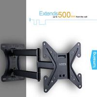 Full Motion Tilt Swivel TV Wall Mount LED LCD Plasma for Samsung 26 32 37 39 42