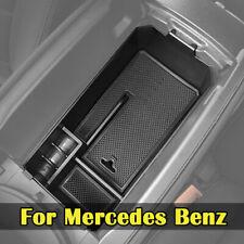 Para Mercedes Benz C Glc Classe W205 Caixa de armazenamento Console Central Bandeja Braço caso