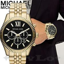Original Michael Kors Uhr Herrenuhr MK8286 Lexington Chrono Farbe:Gold/ NEU!