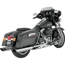 new Vance and Hines Twin Slash Oval Monster Slip-Ons Chrome 16765