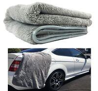 "HUGE XXL 25"" x 36"" WOOLLY MAMMOTH MICROFIBER CAR DRYING TOWEL WATER ABSORBER"