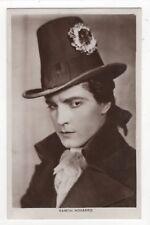 Ramon Novarro Actor Vintage RP Postcard 012c