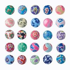 200pcs Mix Handmade Polymer Clay Bead Round 8mm Jewelry Spacer Loose Craft DIY