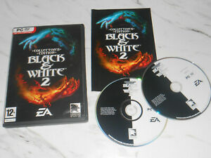 BLACK & WHITE 2 Collector's Edition Pc DVD Rom B&W II Collectors - FAST POST