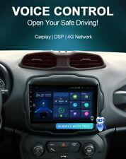 AUTORADIO GPS JEEP RENEGADE 2012-2018 Android 10 Wi-Fi 4GB RAM COMANDI VOCALI