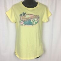 Women To Blame Womens XL Margaritaville T Shirt Yellow Cotton Jimmy Buffett